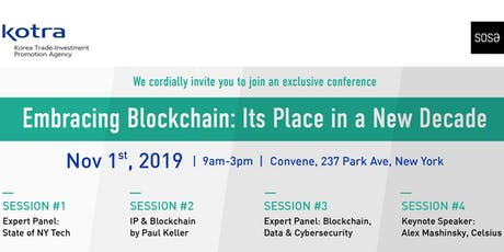 Embracing Blockchain: Its Place in a New Decade tickets