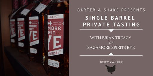 Single Barrel Private Tasting with Sagamore Spirits Rye