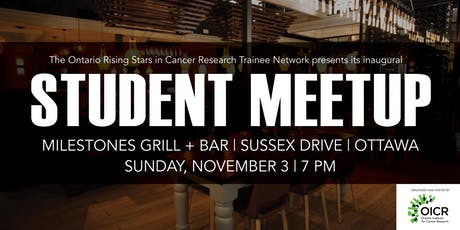 Ontario Rising Stars in Cancer Research Trainee Network meetup tickets
