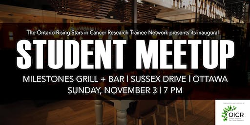 Ontario Rising Stars in Cancer Research Trainee Network meetup
