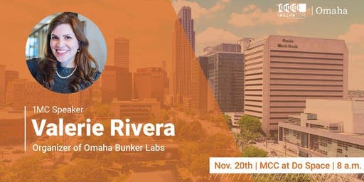 1 Million Cups with Valerie Rivera, Bunker Labs