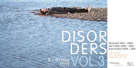 Disorders Vol. 3 tickets
