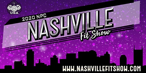NPC Nashville Fit Show - Attendee Tickets 2020