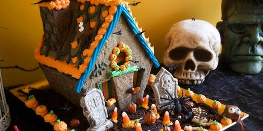 Spooky Gingerbread House Decorating Class
