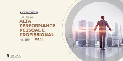 [POA] Palestra Alta Performance Pessoal e Profissional 06/11/2019