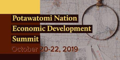 Potawatomi Nation Economic Development Summit  tickets