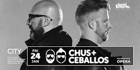 Chus & Ceballos at City At Night billets