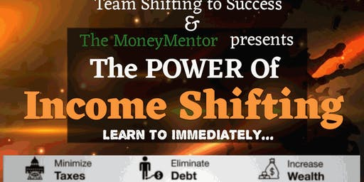 Free $$$ Seminar The Power of Income Shifting!