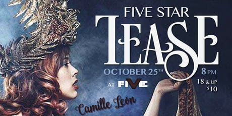 "Five Star Tease 10/25 ""Halloween Edition"" tickets"