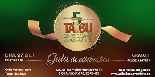 Gala de célébration du 5e anniversaire des services en français de TAIBU