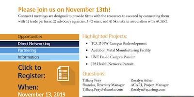 Skanska Connect4 Mixer for Tarrant County College NW Campus Re-Development
