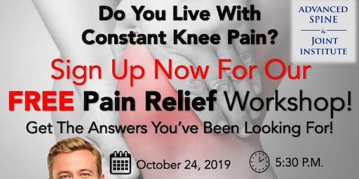 FREE Knee Pain Relief Workshop!