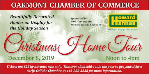 Oakmont Christmas Home Tour
