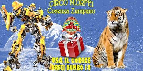 Il Circo M.Orfei a Cosenza Zumpano biglietti