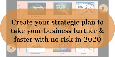 Create a strategic plan to increase your profits by up to 50% in 2020