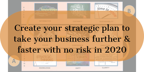 Create a strategic plan to increase your profits by up to 50% in 2020 tickets
