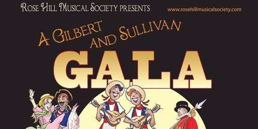 G&S Gala Concert and Trial by Jury - Tickets £14 adults, Children £8.