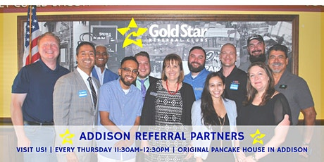 Gold Star Addison - Referral Networking tickets