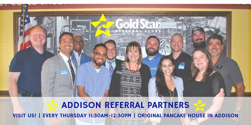 Gold Star Addison - Referral Networking