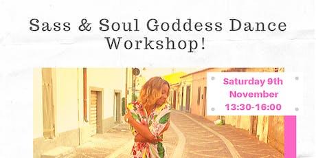 Sass & Soul Goddess Dance Workshop tickets