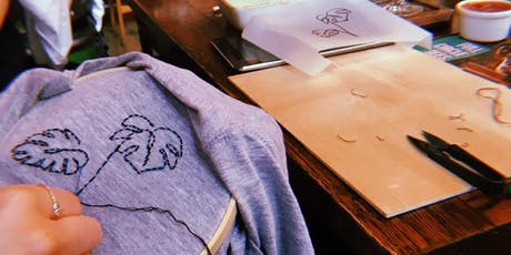 Full Circle Tees -Chorlton-  Hand Stitch Workshop tickets