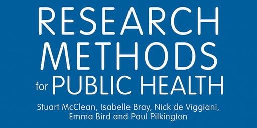 Research Methods for Public Health Book Launch