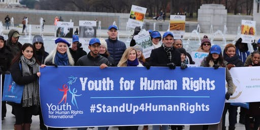 STAND UP FOR HUMAN RIGHTS MARCH