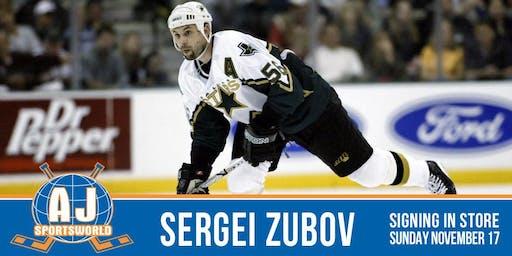 Sergei Zubov In Store  Signing