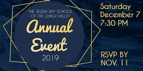The Jewish Day School of the Lehigh Valley Annual Event tickets