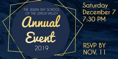 The Jewish Day School of the Lehigh Valley Annual Event
