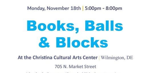 Books, Balls & Blocks @ CCAC