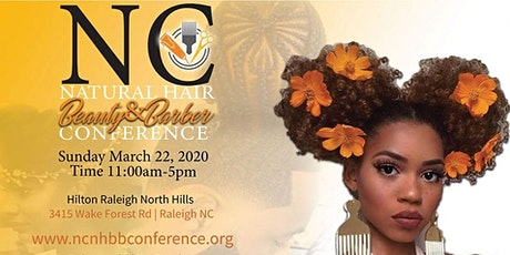 North Carolina Natural Hair, Beauty and Barber Conference 2020 tickets