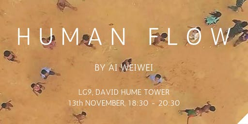 Global Justice Edinburgh Presents - Human Flow by Ai Weiwei