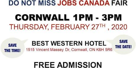 Cornwall Job Fair - February 27th, 2020 tickets