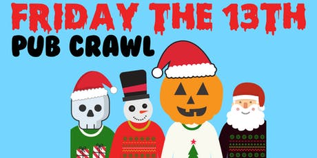 Get Elf'd Up: Friday The 13th - Fort Collins [Christmas Themed Pub Crawl] tickets