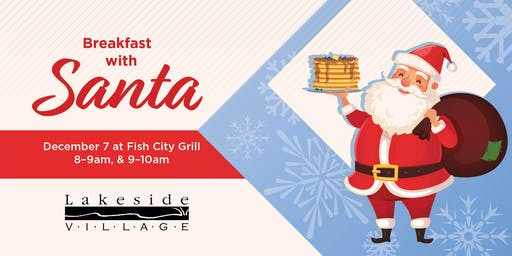 Breakfast With Santa (8:00 am - 9:00 am)