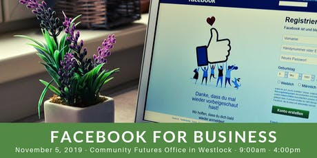 Facebook for Business - Westlock tickets