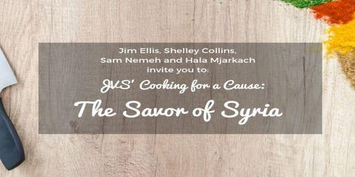 JVS' Cooking for a Cause: The Savor of Syria