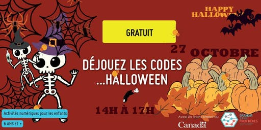Déjouez les codes...Halloween