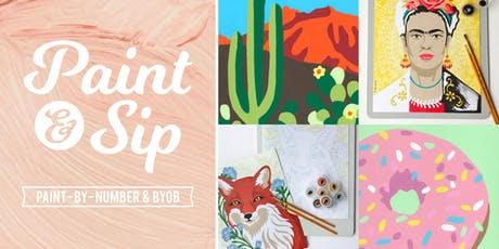 Paint & Sip: BYOB Paint-By-Number Night tickets