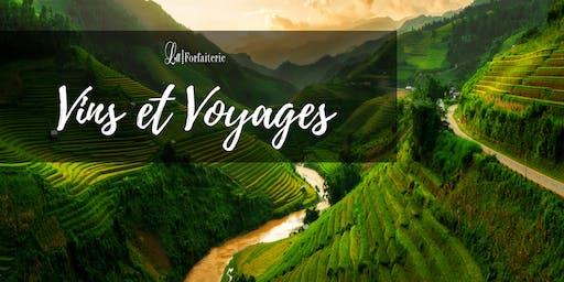 Soirée Vins & Voyages – La Forfaiterie