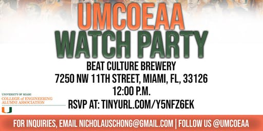 UMCOEAA Watch Party for Pittsburgh Game