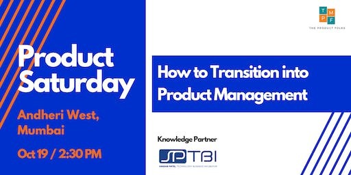 How to Transition into Product Management
