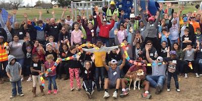 Help build a playground/ Ayude construir un parque @ Stony Point Park!
