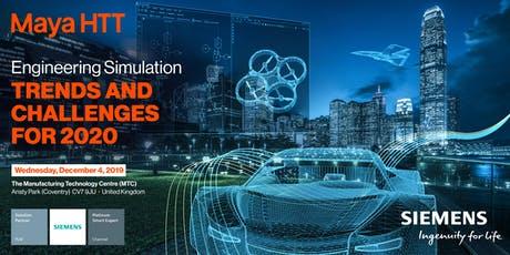 Engineering Simulation – Trends and Challenges for 2020 tickets
