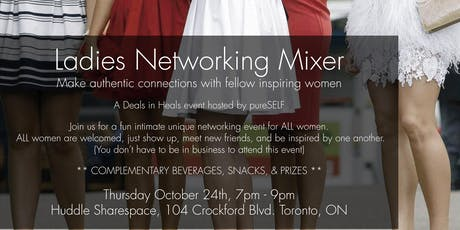 FREE Ladies Networking Mixer tickets