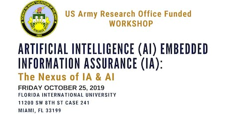Artificial Intelligence (AI) Embedded Information Assurance (IA) Workshop tickets