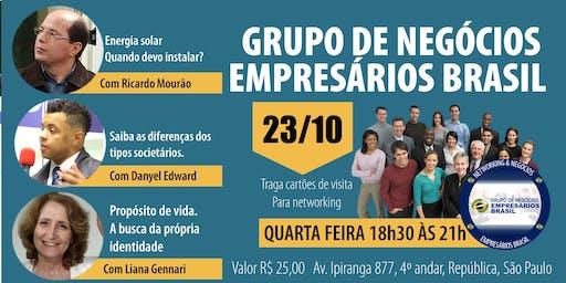 23-10 Reunião do grupo de negócios- Empresários Brasil