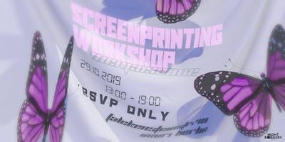 Wemaisnone present: Screenprinting Workshop