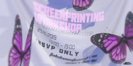Wemaisnone present: Screenprinting Workshop tickets